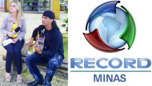 César Di na TV Record Minas